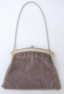 Stříbrná kabelka s peněžkou - Lutz & Weiss, Pforzheim (1).JPG