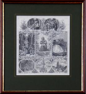 F. Zelinka - Sv. Jan Nepomucký, upomínkový list (1).JPG