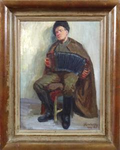 Issai Kulwiansky - Voják s harmonikou (1).JPG