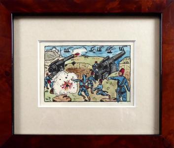 Turečtí dělostřelci bránící pobřežní pevnost, 1. sv. válka (1).JPG