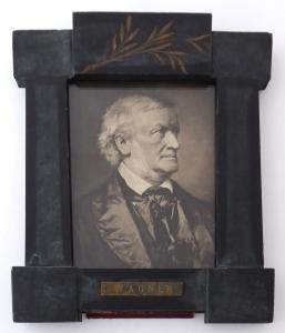 Rámeček s portrétem hudebního skladatele Richarda Wagnera (1).JPG