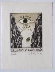 Jindřich Pileček - Ex libris M. Urbanová (1).JPG
