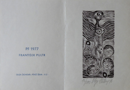 Olga Čechová - PF 1977 František Pultr, Ptačí žena (1).JPG