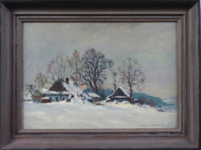 František Cína Jelínek - Na Křižánkách (1).JPG