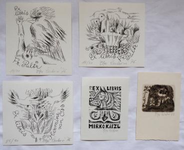 OLga Čechová - Pět ex libris ( 3 x 1976, 1 x 1973 )  (1).JPG