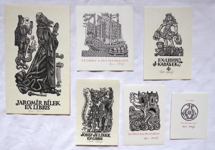 Zdeněk Mézl - Šest ex libris (1).JPG