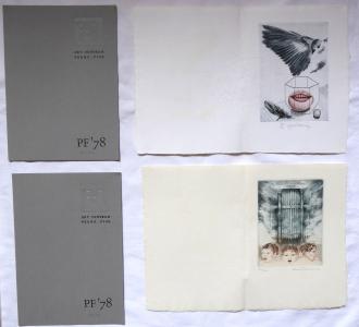 Karel Demel, Daniela Havlíčková - Dvě PF 1978, Art Centrum Praha (1).JPG
