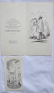 Karel Müller - Ex libris, Vzpomínka (1).JPG