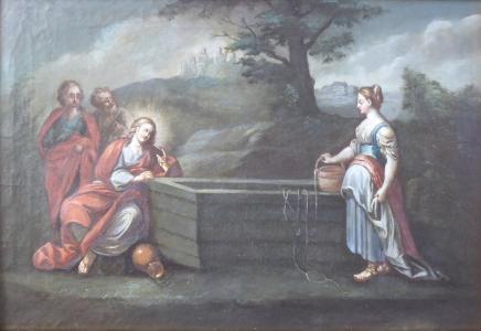 Franz Anton Fröhlich - Kristus a Samaritánka u studně (2).JPG