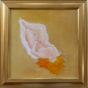 Ležící dívčí akt s pokrčenou nohou (1).JPG
