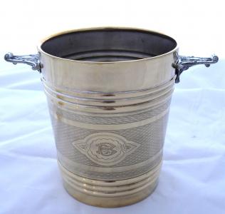 Starožitná nádoba na led a chlazení lahví (1).JPG